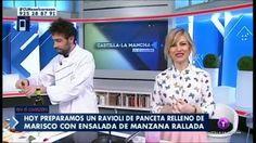 Jorge Gómez. Ravioli de panceta relleno de marisco