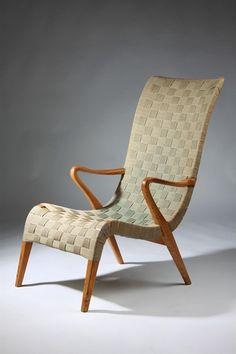 Armchair, designed by Axel Larsson for Svenska Möbelfabrikerna, Bodafors, ca 1937.