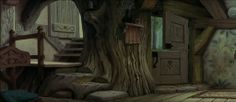Woodcutter's Cottage, Sleeping Beauty