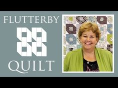 Flutterby Quilt tutorial by Jenny from the Missouri Star Quilt Company. She's so great at explaining things!