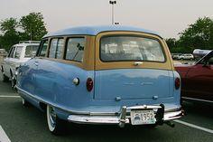 '52 Rambler Tin Woodie Wagon