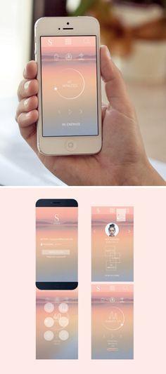 한 앱의 프로토타입을 잘 알 수 있는 좋은 참고자료같습니다. 그라데이션을 잘 활용했고 색이 뻔하지 않게 들어가서 잘 정돈되어진 것 같습니다.