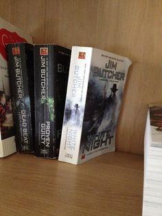#emptyshelf 17: White Night by Jim Butcher (book 9 of The Dresden Files)