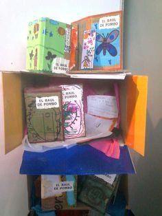 Amapola Cartonera: El Baúl de Pombo. Libro Cartonero hecho por niños y niñas en la XXV Feria Internacional del Libro de Bogotá