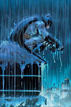 Batman #51Variant cover by John Romita Jr. & Klaus Janson