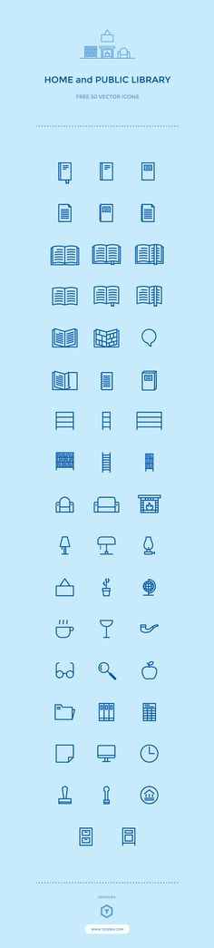 50 Free Library Icons on Behance 【verified】