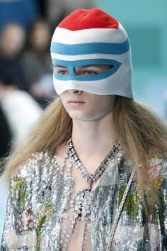 Kristina Abibulaieva for Gucci Fall 2018 Show