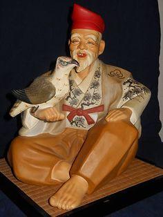 Old Hakata Doll Falconer