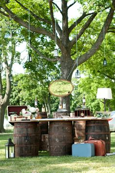 Whiskey and Cigar Bar Wedding   Photography: Sarah Sousa Photography - sarahsousaphotography.blogspot.com  Read More: http://www.stylemepretty.com/canada-weddings/ontario/2014/01/14/fort-malden-wedding/