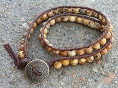 Ladder Stitched Bracelet by KendallsKlosets on Etsy, $30.00