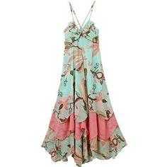 maxi beach dress  #teen #girl #dress #beachwear