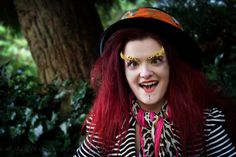 We're All Mad Here by Julene Evans Photography