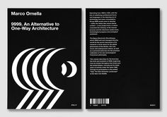 9999. An Alternative to One-Way Architecture2015 BookArt Direction / Artwork / Layout