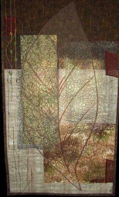 Art quilt - love.