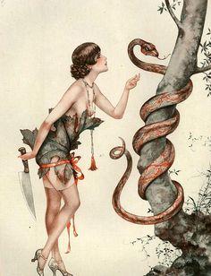 hoodoothatvoodoo: Illustration von Cheri Herouard Für La vie Parisienne 1920