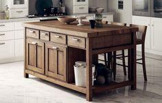 storage island - scavolini kitchen