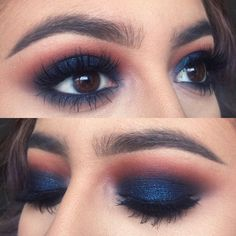 Blue eyeshadow                                                                                                                                                                                 More