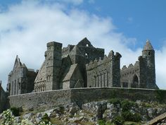 Rock of Cashel, South Tipperary, #Ireland.