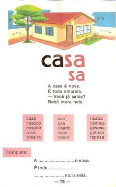 Cartilha de alfabetização Infantil Caminho Suave You Changed, Nostalgia, Public, Messages, Activities, Education, Memes, Image, Reading Activities