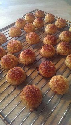 Saftige kokosmakroner