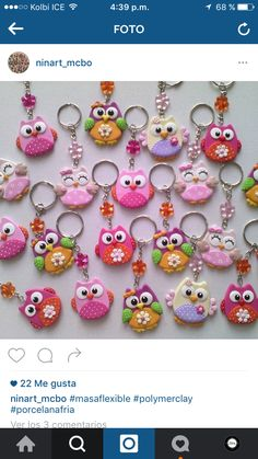 1 million+ Stunning Free Images to Use Anywhere Polymer Clay Owl, Polymer Clay Projects, Polymer Clay Jewelry, Clay Crafts, Clay Keychain, Clay Magnets, Paper Toy, Clay Mugs, Clay Ornaments