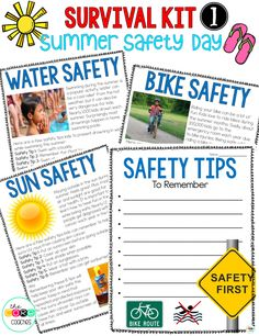 Day 1: Summer Safety