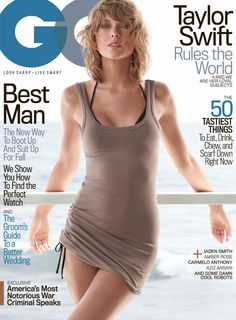 Taylor Swift snags her first GQ cover and check out how hot she looks! | toofab.com