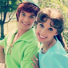 Peter pan and wendy at Disneyland
