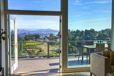 Indoor-outdoor living in Mill Valley