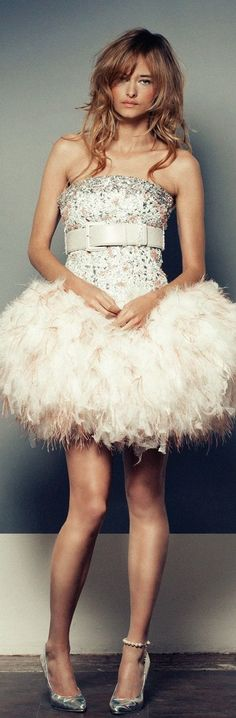 Chanel feathers big belt