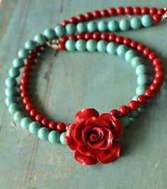 Inspired by Frida Kahlo necklace by fleurfatale on Etsy, €62,00