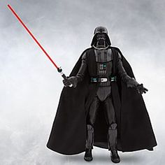 Star Wars Elite Series Darth Vader Premium Action Figure - 10'' | Disney Store In collaboration with Lucasfilm, we present the <i>Star Wars</i> Elite Series Darth Vader Premium Action Figure. Exquisitely designed in his signature look, no collection is complete without the galaxy's most volatile villain.