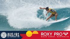 Tyler Wright's 9.50 on Opening Wave - Roxy Pro Gold Coast 2017 Round Two...