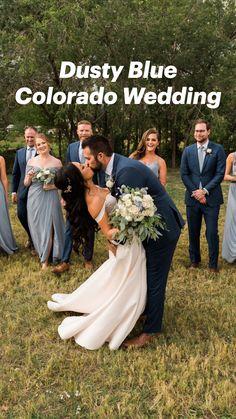 Blue Wedding Suit Groom, Navy Blue Groom, Steel Blue Weddings, Dusty Blue Weddings, Blue Bridesmaids, Blue Bridesmaid Dresses, Rain Photography, Wedding Photography, Fall Wedding Decorations