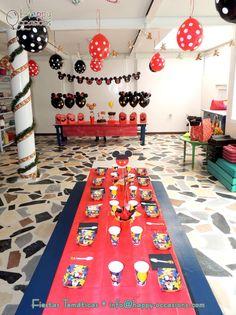Decoración Fiesta Mickey Mouse https://www.facebook.com/happyoccasionsfiestas