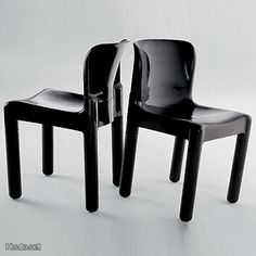 4875 Chair, By Carlo Bartoli for Kartell, 1974.