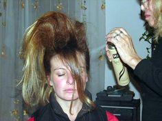 Teased Hair, Hairspray, Dreadlocks, Hair Styles, People, Photography, Beauty, Hairstyle, Hair