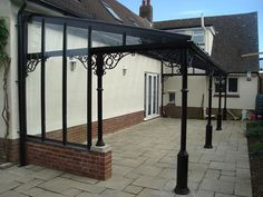 Classical Verandah with straight roof - Large