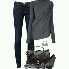 Dark Gray Casual