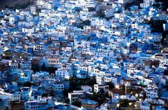 The blue city Chefchaouen, Morroco