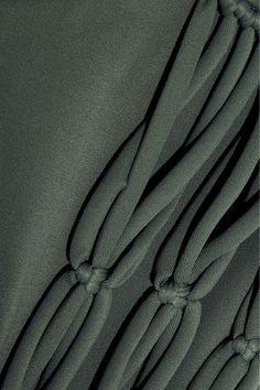 Mikoh - Perth Cutout Bikini Briefs - Army green - x large
