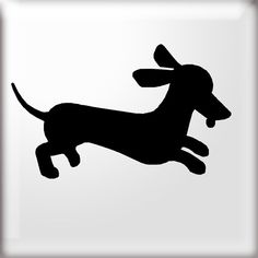 33 Awesome wiener dog silhouette images