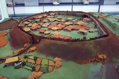 A model of the Celtic Settlement of Viladonga, Spain. Photo: KW. According to the available data, some 300 to 500 people are said to have lived in the small fort during its heyday. The site was steadily populated from around 50 BC to 450 AD.