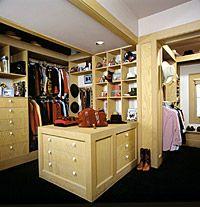 Plan A Closet Makeover
