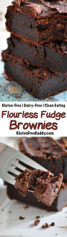 These gluten-free flourless brownies are a rich, dense, and decadent chocolate treat. But I love that they are made from chickpeas and cashews, so they are full of fiber, healthy fats and protein! Dairy-Free, Clean Eating