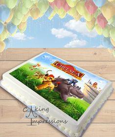 The Lion Guard Edible Image Cake Topper [SHEET]