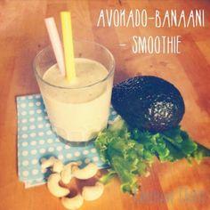 Avokado-banaanismoothie