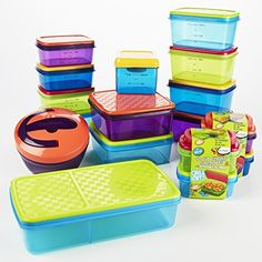 Fit & Fresh Kids' Complete Back to School Lunch Container Kit