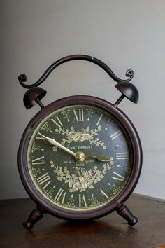 Antique Clock (this is a free stock image from Pixabay)