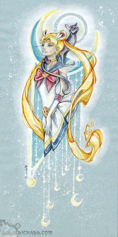 Sailor Moon Nouveau by *SaraRichard